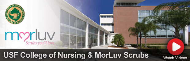 USF College of Nursing & MorLuv Scrubs